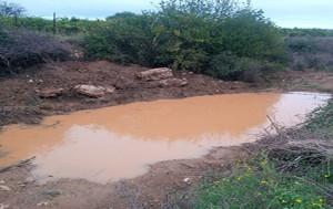 Création d'un point d'eau à l'Arjolle