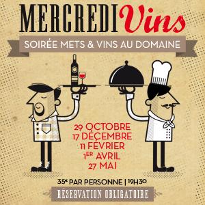 Mercredi Vins du Domaine de l'Arjolle et de l'Auberge de Combes