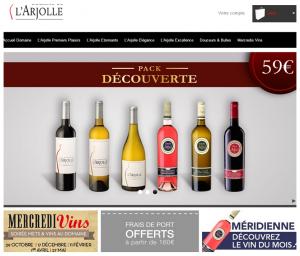 E-boutique du Domaine de l'Arjolle