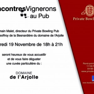 Dégustation Private Bowling Pub - 19 novembre 2014
