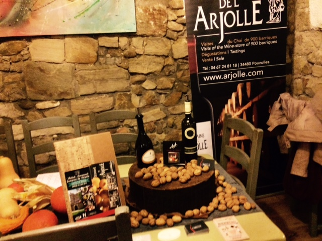 Soirée Noix et Domaine de l'Arjolle