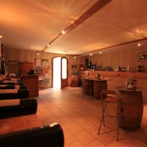 Visite du Domaine : la boutique de l'Arjolle
