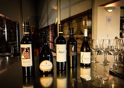 Gamme de vin du Domaine de l'Arjolle