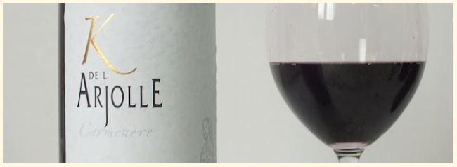 K de l'Arjolle, 100% Carménère